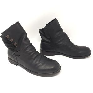 Nine West Madeo Genuine Leather Pull-On Booties